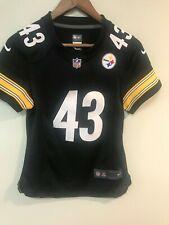 Pittsburgh Steelers NFL NIKE  Jersey Size Youth Small #43 Polamalu Sewn on