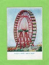 More details for gigantic wheel earls court london early  court size  unused pc