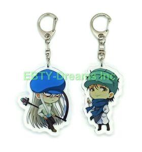Set of 2 Hunter x Hunter Anime Acrylic Keychain Ging Freecss, Kite