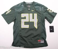 NWT Youth Boys NIKE OREGON DUCKS Green #24 THOMAS TYNER Football Jersey SIZE S
