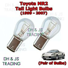 Toyota MR2 Tail Light Bulbs Pair of Rear Tail Light Bulb Lights MR-2 (99-07)