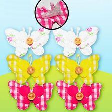 Pasqua Arts Craft caccia all'uovo decorazioni-confezione 6 Clip a Farfalla in tessuto