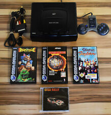 Sega Saturn Konsole - Set inkl. 4x Spiele
