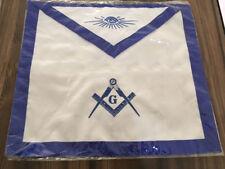 Best Quality Cloth Master Mason Apron, Master Mason Apron, Masonic Regalia Apron