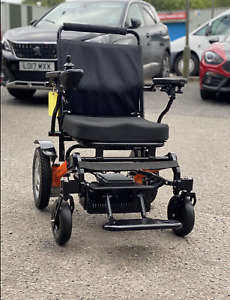 MONARCH EZI-FOLD LIGHTWEIGHT 4MPH ELECTRIC POWERCHAIR MOBILITY SCOOTER 2020