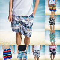 Men Beach Board Shorts Surf Swimming Shorts Sports Swim Trunks Swimwear NEW