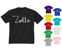 Youth Kids Childrens Zoella Vlogger Blogger Fashion Logo T-shirt Age 5-13 Years
