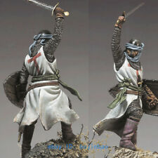 1/32 Scale 54mm Medieval Knight Warrior Unpainted Model Kits Garage Kit Statue