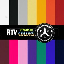 HTV - Standard Colors  -  SHEETS - Heat Transfer Vinyl