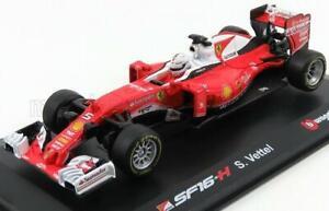 Bburago Ferrari Ray Ban F1 SF16H N 5 Season 2016 Sebastian Vettel Red White 1:32