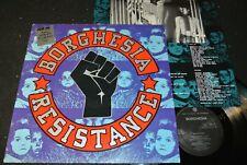 BORGHESIA Resistance / Dutch LP 1989 PLAY IT AGAIN SAM RECORDS BIAS 147