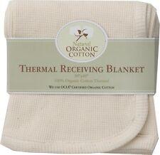 1  Organic Cotton Thermal Receiving Baby Blanket