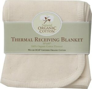 American Baby Co/TL Care  Organic Cotton Thermal Swaddle Infant Baby Blanket