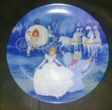 1988 Knowles Plate Disney cartoon cinderella bibbidi bobbidi boo china  # 8208 h