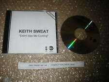 CD Pop Keith Sweat - Didnt See Me Coming (17 Song) ELEKTRA