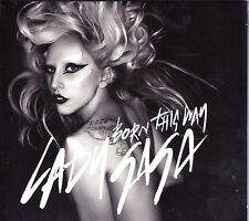 CD DIGIPACK SINGLE 4 TITRES LADY GAGA BORN THIS WAY 2011 NEUF SCELLE