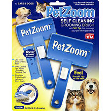 PetZoom Self Cleaning Grooming Brush For Cats& Dogs,RCTV0038 Wholesale available