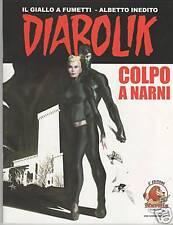 DIABOLIK albetto speciale inedito fuori serie COLPO A NARNI narnia fumetto 2008