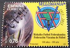 2014 DEPORTES CENTENARIO FEDERACION VIZCAINA FUTBOL EDIFIL 4889 ** MNH   TC20612