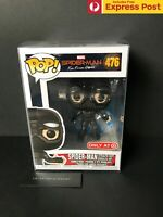 SPIDER-MAN FAR FROM HOME STEALTH SUIT GOGGLES UP FUNKO POP VINYL FIGURE #476 NEW