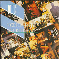 10CC- 45 with picture sleeve FOOD FOR THOUGHT/THE SECRET LIFE OF HENRY