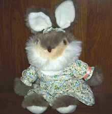 "Adorable 17"" Cloth Bunny Doll"