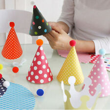 11pcs/set  Kids Party Celebration Hats Cute Birthday Festive Party  Decoration