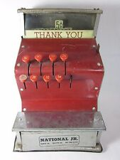 Vintage Toy Kamkap NATIONAL JR Cash Register