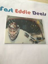 PINNACLE MCDONALDS HOCKEY 1996 JIM CAREY 3D GOALIE CARD WASHINGTON CAPITALS
