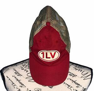 Raising Cane's Retired 1LV Trucker Hat - Red