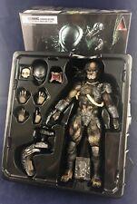Square Enix Play Art Kai Predator Authantic Figure (Opened Box) 2015