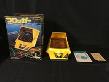 Frogger LSI Game Gakken Tabletop Arcade in Box w/ Manual & Box Inserts Working