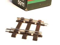 5911 Marklin Scale 1 gauge Straight track 59.5mm, one each, NEW STYLE COUPLER