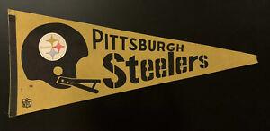 Vintage Pittsburgh Steelers Pennant NFL