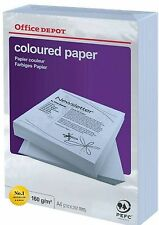 Office Depot Coloured Printer Copy Paper – A4 Blue 80gsm 1 ream, 250 sheets