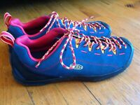 KEEN Jasper Blue Suede Trail Lace Up Shoes Sneakers Men's Size 11.5 *WoW*