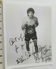 """RAY """"BOOM BOOM """" MANCINI HAND SIGNED PHOTO & COA - OFFERS ACCEPTED"""