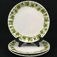 """Set of 3 VTG Salad Plates 7 1/4"""" by Retsch & Co Ivy Wunsiedel BAVARIA Porcelaine"""