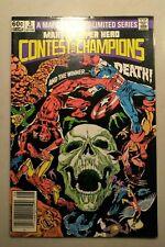 Marvel Super Hero Contest of Champions #3 (1982 Marvel) (VF)
