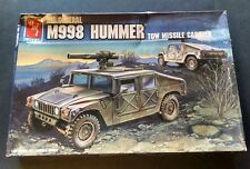 AMT AM GENERAL M998 HUMMER WITH TOW MISSILE 1/35 SCALE ARMOR TANK MODEL KIT