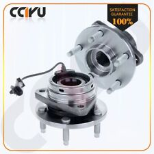 2 Front Wheel Hub Bearing Assembly For CHEVY COBALT HHR SS MALIBU G6 SATURN AURA
