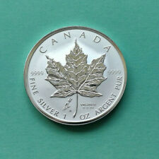 "Kanada: 5 Dollar ""Maple Leaf - Privy Mark - Tulpe"" 2005 (1 Oz. / frosted Proof)"