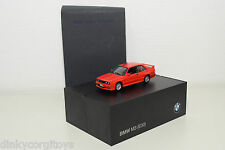 MINICHAMPS BMW 3ER 3 SERIES M3 E30 RED MINT DEALER BOXED