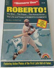 Roberto Clemente Numero Uno 1973  Vintage Book Paperback