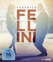 FEDERICO FELLINI EDITION -MASTROIANNI,MARCELLO/SUTHERLAND,DONALD  9 BLU-RAY NEU