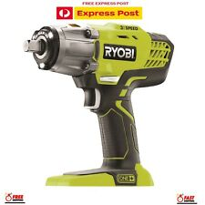 Ryobi One+ 18V 3-Speed Impact Wrench- Skin Only FREE EXPRESS POST