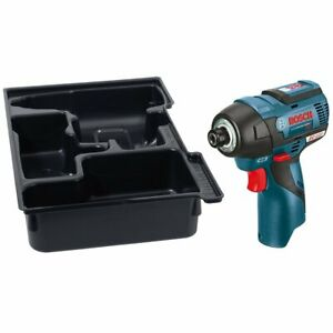 Bosch PS42BN 12-Volt Max EC Brushless Lithium-Ion Impact Driver with Insert Tray