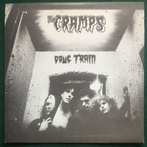 """CRAMPS ~ Drug Train  UK Original 1980 7"""" Picture Sleeve Only! M-"""