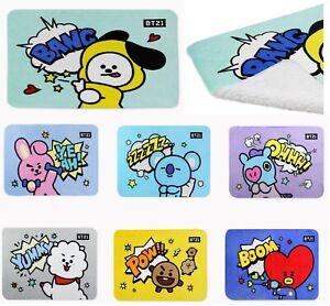 BT21 Authentic Official Kpop BTS Character Comics Flannel Woolen Blanket
