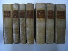 ENSEMBLE 7 VOLUMES BULLETIN DES LOIS REPUBLIQUE AN VIII - XI [1801-1803] TBE